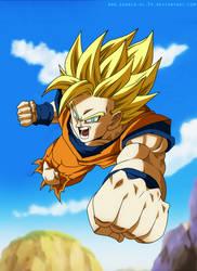Dragon Ball Fighter Z - Cover Goku by SenniN-GL-54