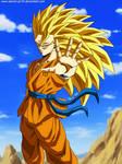 Goku Ssj3 Badass by SenniN-GL-54