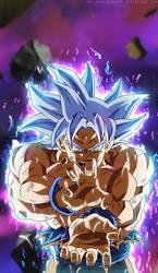 Goku Ultra Instinct Silver by SenniN-GL-54