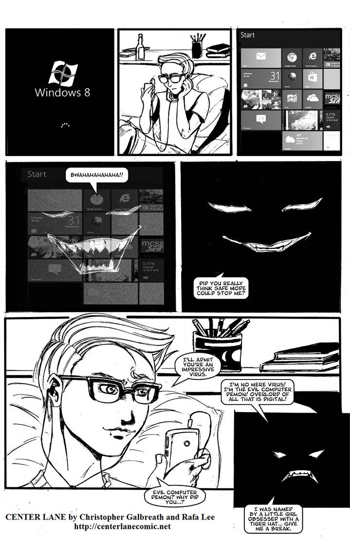 Digital Overlord? by CenterLaneComic