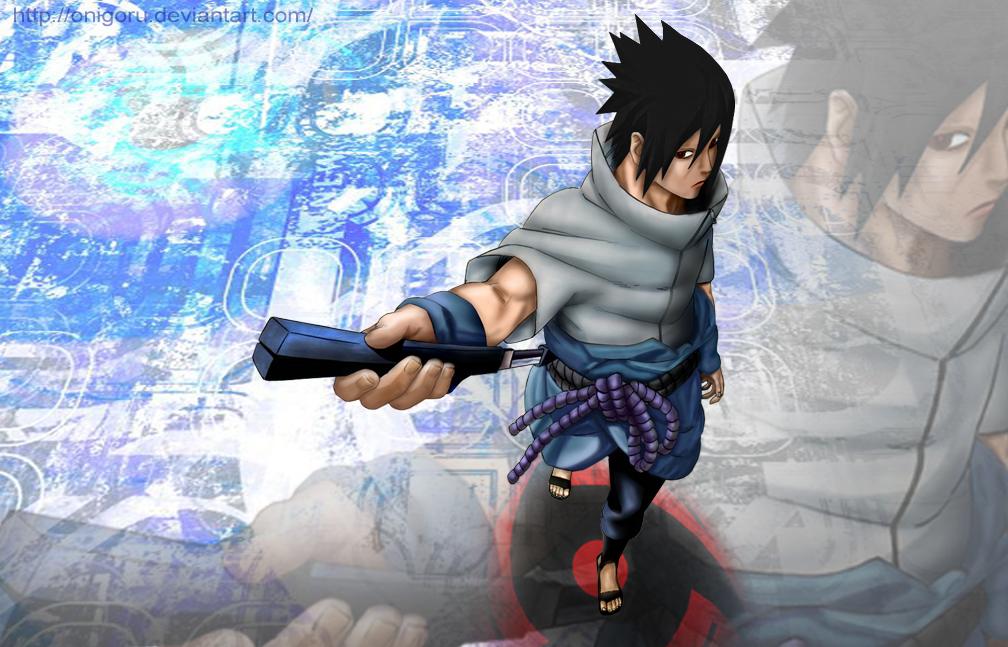 Sasuke Uchiha Mangekyou Sharingan By Onigoru