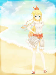 At the Beach by chyndea