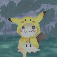 Rain Coat for Mimikyu by chyndea