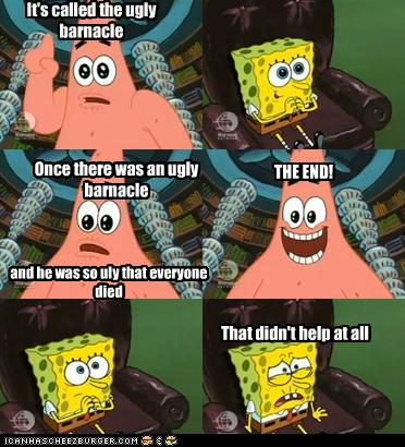Spongebob Question And Answer What Is A Good And Funny