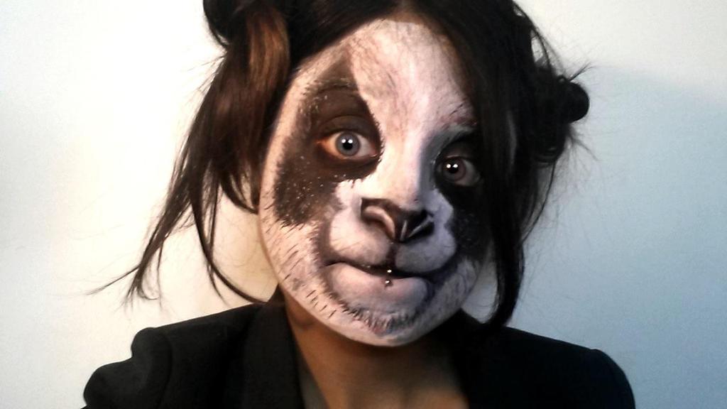 Makeup Panda By L Pwet On Deviantart