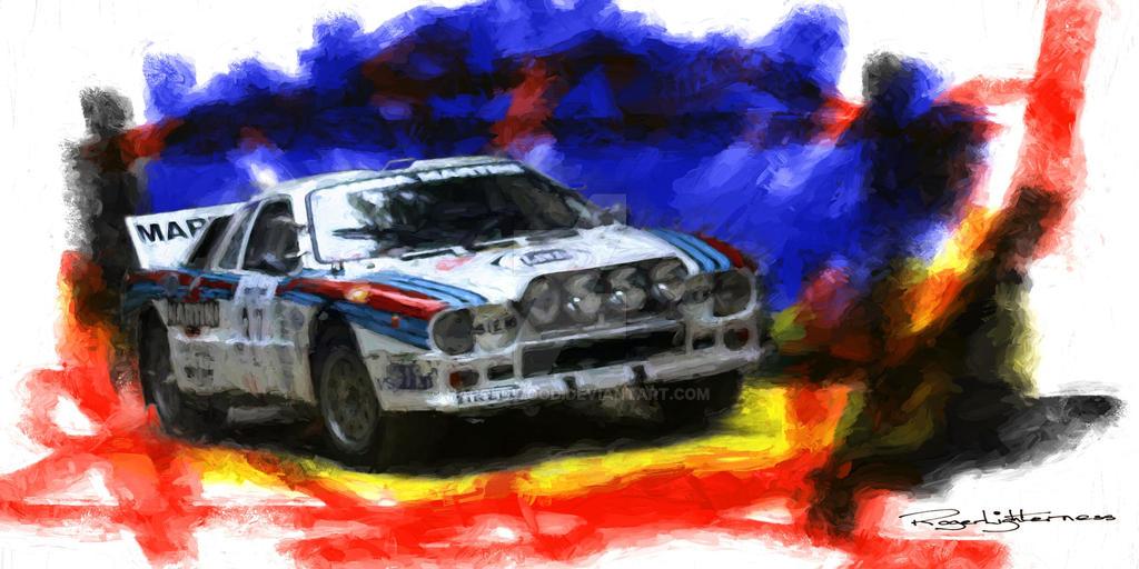 Lancia Rally by HaroldWood