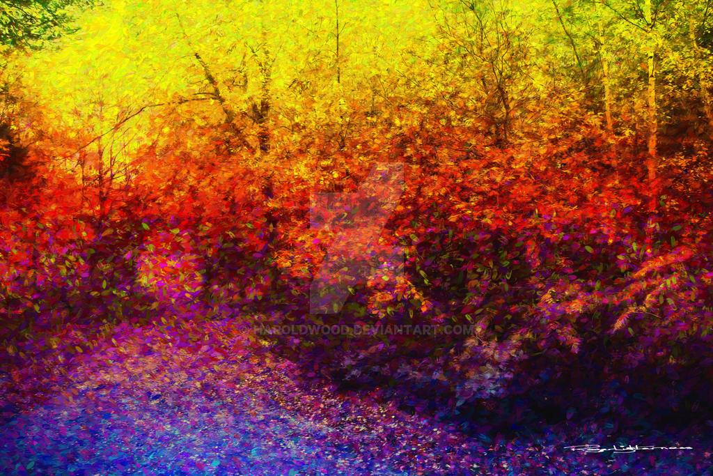 Leaves by HaroldWood