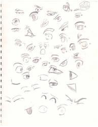 Eyes by RedVulpix009