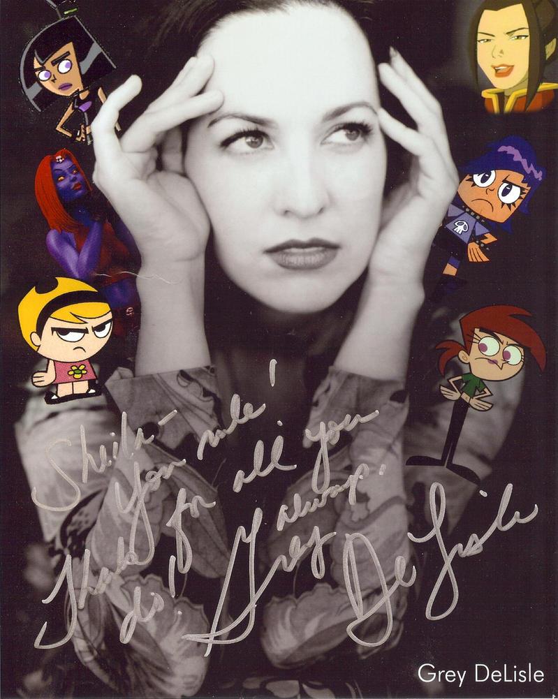 New Grey Autograph by GreyDeLisle