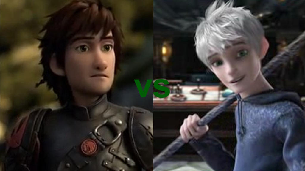 Hiccup vs jack frost by mewnadjaxjackfrost on deviantart