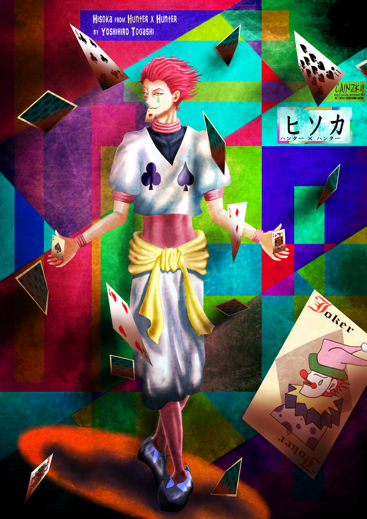 Hisoka Joker Wild Card By CainzKy