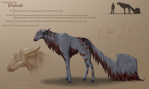 Diubali Original Species Sheet