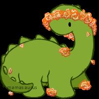 mamasaurus flowercrown [p] by mamasaurus