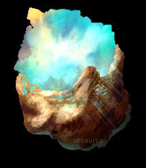 Raw Opal by mamasaurus