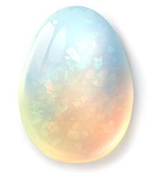 Opal Egg by mamasaurus