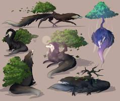 treebound shadow