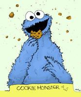 ::cookie monster:: by blackhorsewhispers