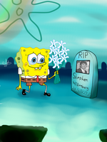 Spongebob RIP Stephen Hillenburg by Latia122