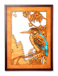 Kingfisher by Wolka-Art