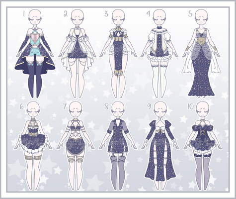 Outfit Adoptable Batch 33 - Pending