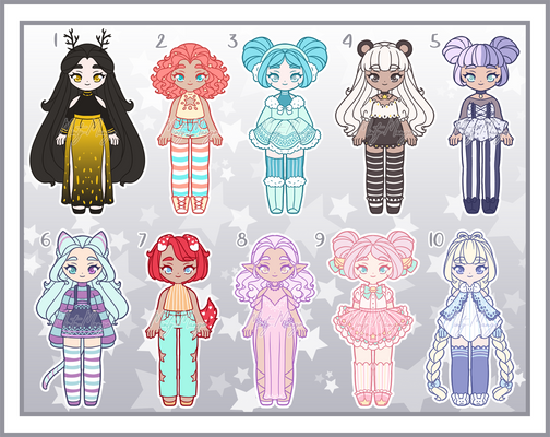 Small Girl Adoptable Batch 06 - Closed