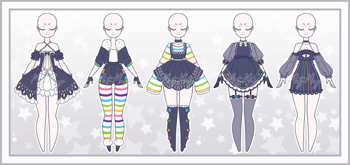 Outfit Adoptable Batch 34 - Closed