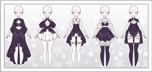 Outfit Adoptable Batch 45 - Closed