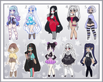 Small Girl Adoptable Batch 11 - Closed