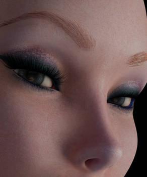 Skin shader test in Blender - Work in Progress