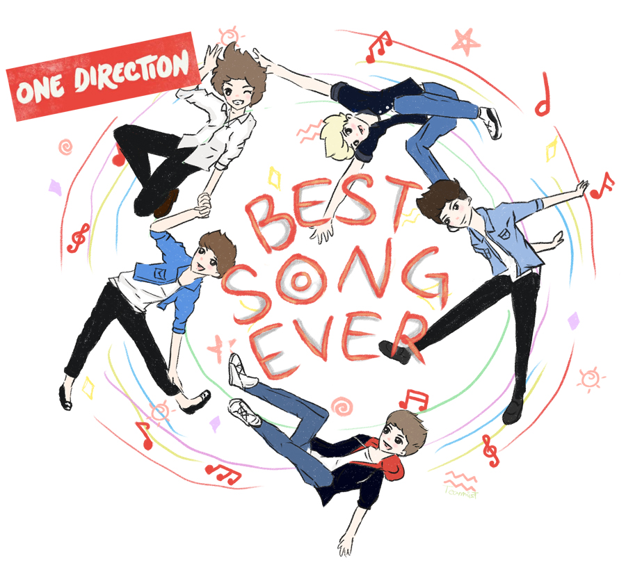 One Direction Best Song Ever Fanart By Teammist