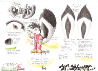 Punky Skunk REF. COMPLETE by Wingcapman