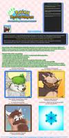 PMD Expression Portrait Stickers - Commission list