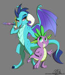 Ember and Spike