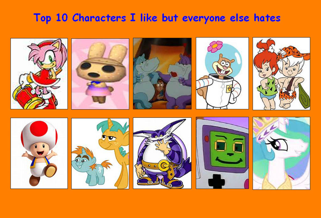 Anime Characters Everyone Hates : Characters i like that everyone else hates pt by