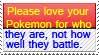 Love Your Pokemon Stamp by katamariluv