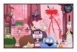 Fosters Home for Imaginary Friends stamp by katamariluv