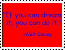 If You Can Dream It Stamp