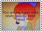 Peachy Keen Friend