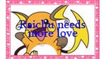 Raichu Needs More Love stamp by katamariluv