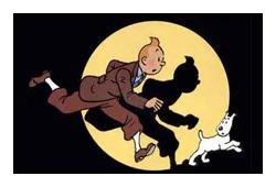 Tintin stamp by katamariluv
