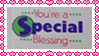 Special Blessing stamp by katamariluv