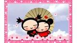 Sweethearts Pucca and Garu stamp