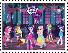 Equestria Girls stamp by katamariluv