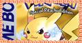 Pokemon Yellow stamp by katamariluv