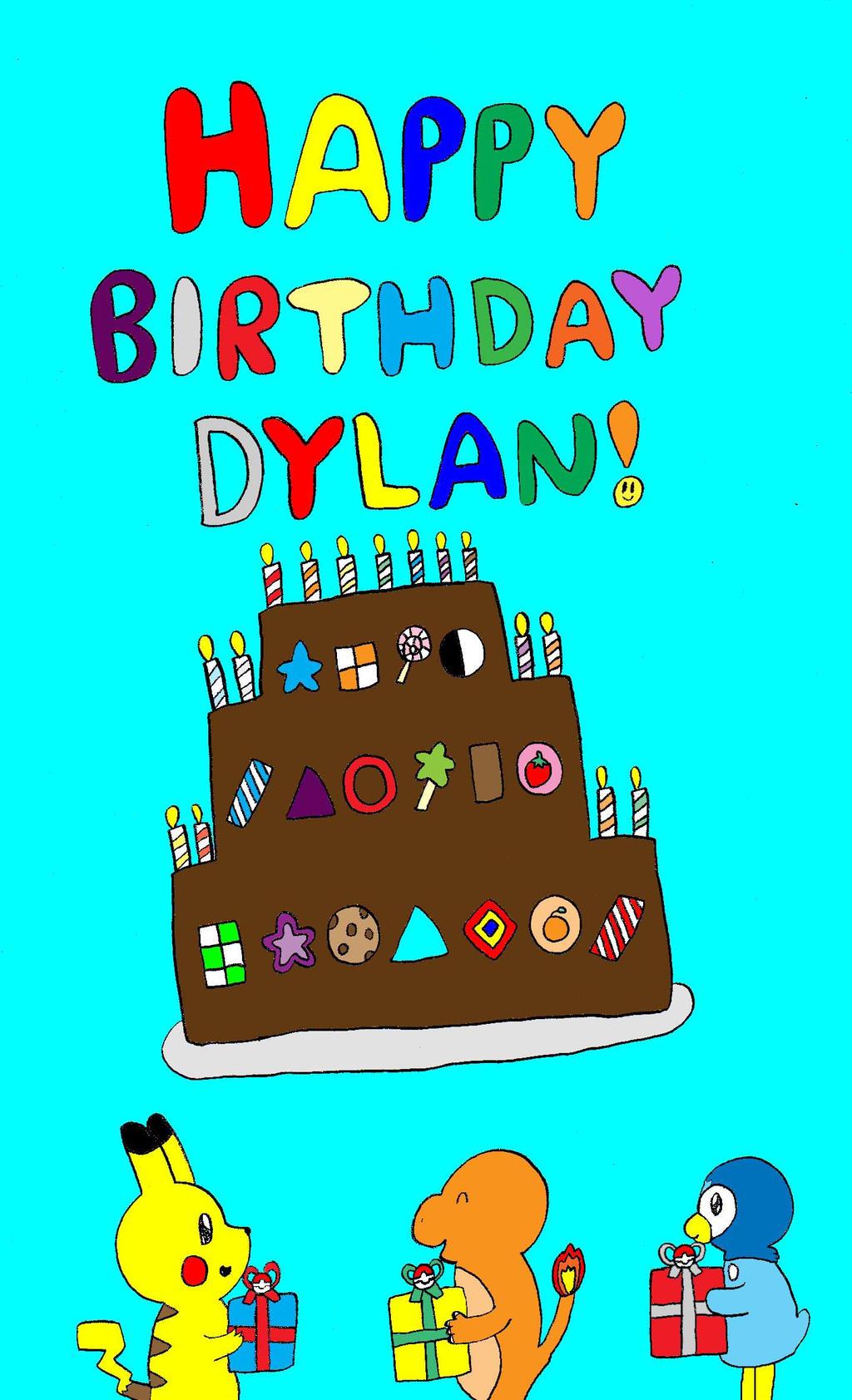 Happy Birthday Dylan Cake