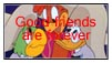 Three Caballeros Friendship stamp by katamariluv