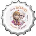 Strong Bond Strong Heart bottlecap by katamariluv
