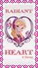 Radiant Heart stamp by katamariluv