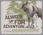 Always Up for Adventure stamp by katamariluv