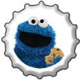 Lookie Lookie Lookie Here Comes Cookie bottlecap by katamariluv